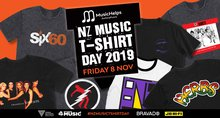 Announcing the First Annual MusicHelps NZ Music T-Shirt Day