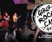 Girls Rock Camp Comes to Auckland and Launches Crowd-Funding Campaign