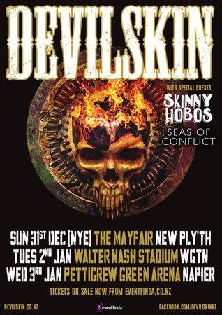 BEST ROCK ARTIST' DEVILSKIN BRINGING THE HEAT THIS SUMMER