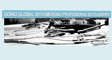 Going Global Emerging Professional Scholarships Now Open