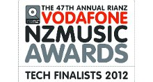 VNZMA 2012 Technical Awards Finalists