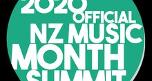 Saturday 23 May - 2020 Official NZ Music Month Summit
