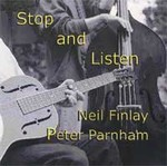 Stop and Listen by Neil Finlay cover art