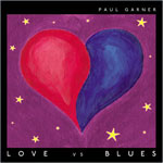 Love vs Blues by Paul Garner cover art
